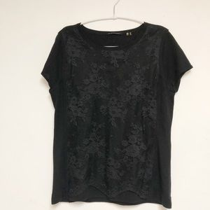 Elie Tahari Black Top